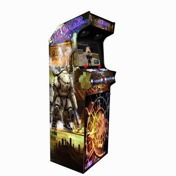 Borne Arcade Classic Profil Gauche Modèle Time Machine ma-borne-arcade.fr