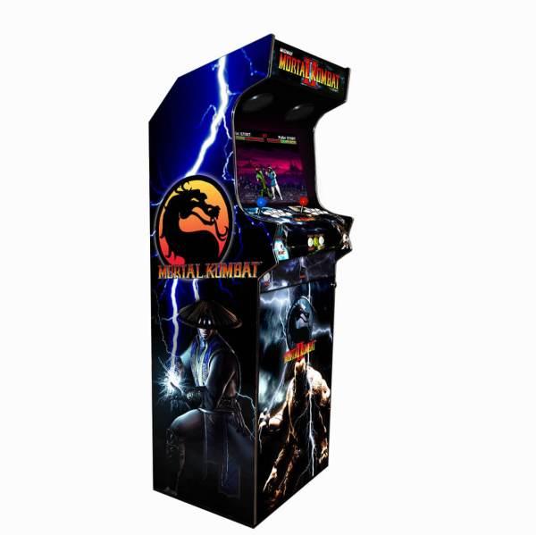 Borne Arcade Classic Profil Gauche Modèle Mortal Kombat 2 ma-borne-arcade.fr.jpg