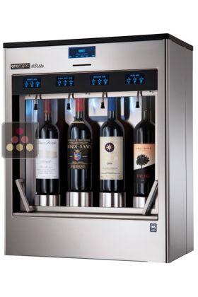 Ancien Modle Distributeur De Vin Au Verre 4 Bouteilles