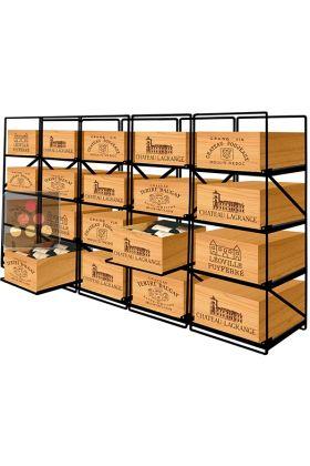 La Seule Solution Pour Stocker 20 Caisses De Vins Et 240