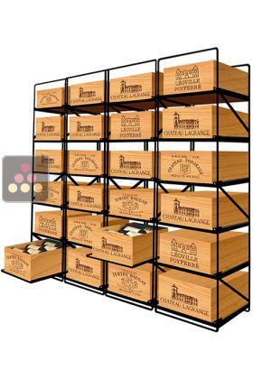 La Seule Solution Pour Stocker 24 Caisses De Vins Et 288