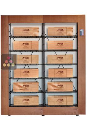 Ancien Modle Bibliothque Intelligente Pour 12 Caisses