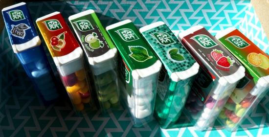 Assortiement de boîtes de Tic Tac