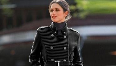 un long manteau femme taille 48 pour