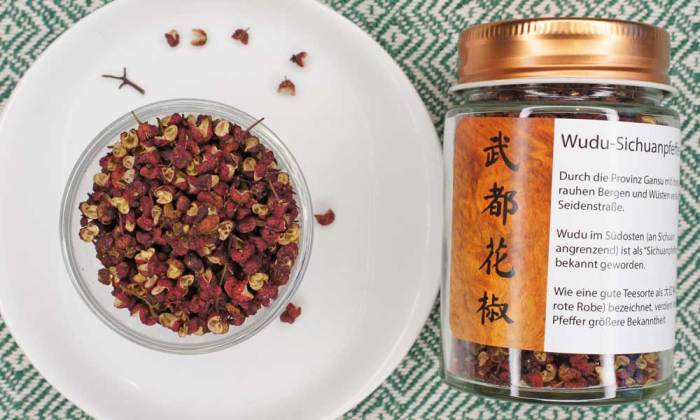 Wudu (Dahongpao) Huajiao