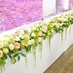 Choisir de mettre des fleurs partout durant son mariage