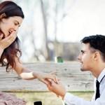 La demande en mariage dans les règles de l'art