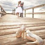 Mariage : Des chaussures de mariage assorties à la robe de mariée