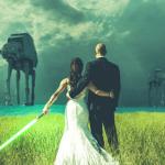 Réception de mariage geek