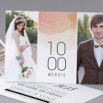 Des invitations de mariage à l'aquarelle