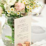 Donner un nom original au menu de notre mariage