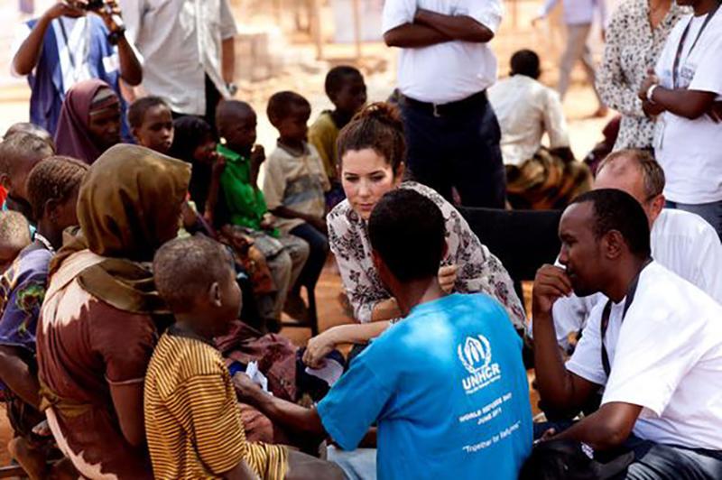 un voyage de noces humanitaire