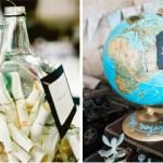 Une urne de mariage qui donne envie de voyager