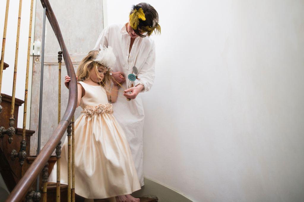 occuper les enfants à un mariage