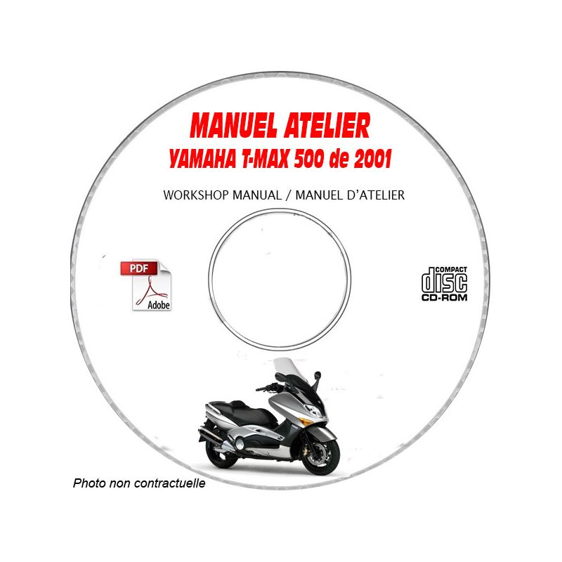 revue technique YAMAHA T-MAX 500cc de 2001 XP500 (N) Type
