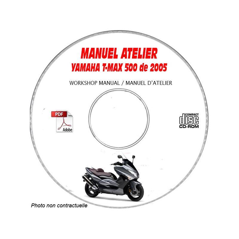 revue technique YAMAHA T-MAX 500cc de 2005 Manuel d