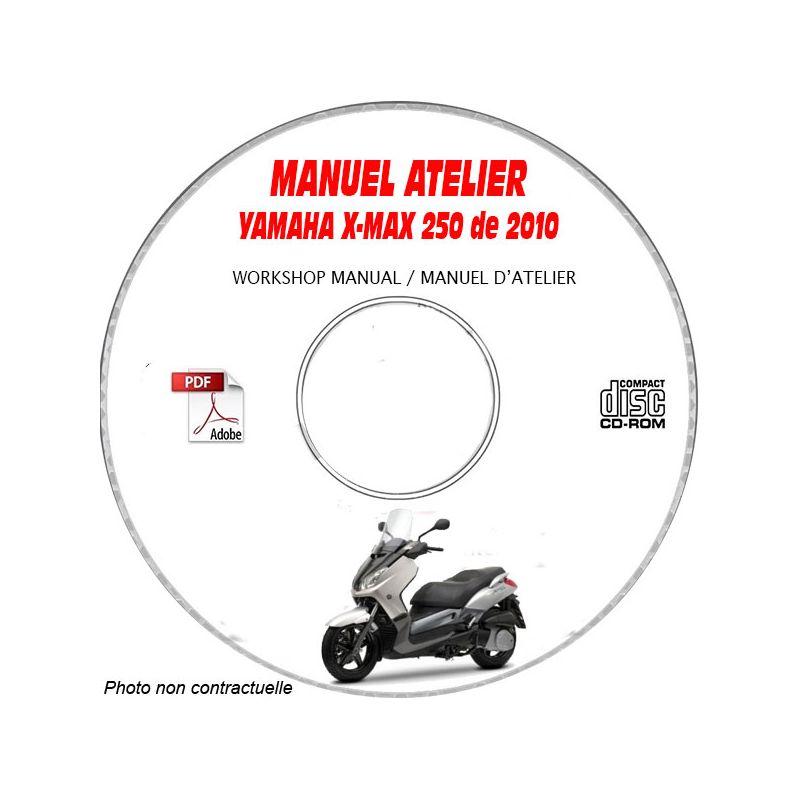 revue technique YAMAHA X-MAX 250 de 2010 TYPE: YP250R