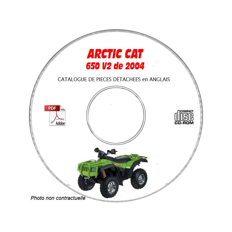 Revue technique ARCTIC CAT 650 V2 de 2004 Type