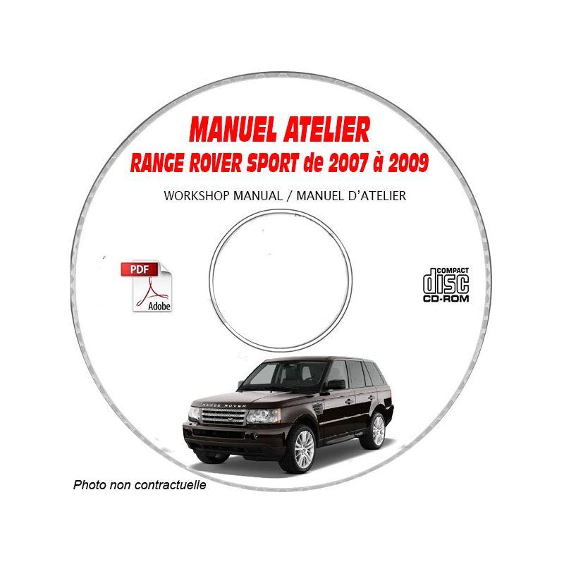 revue technique RANGE-ROVER SPORT L320 de 2007 a 2009
