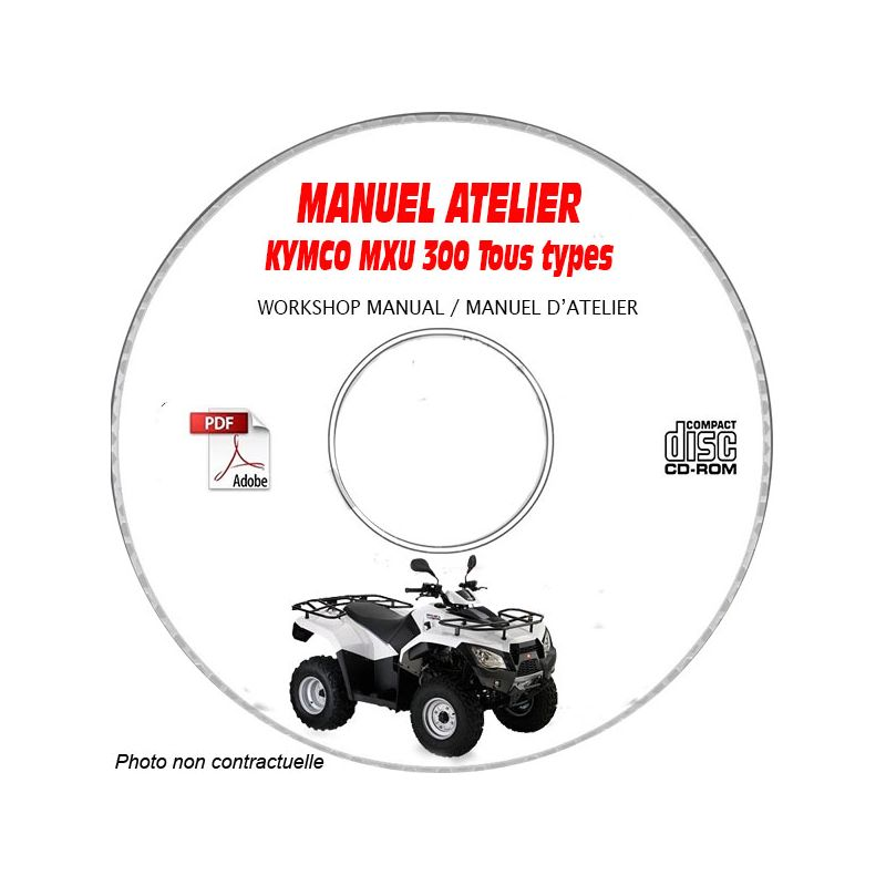 revue technique KYMCO MXU 300 Type LB60AD/AA Manuel d