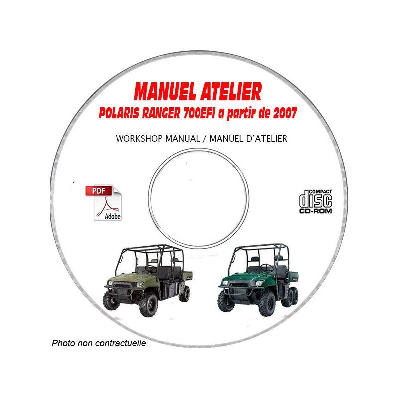 revue technique POLARIS RANGER XP 700 EFI a partir de 2007