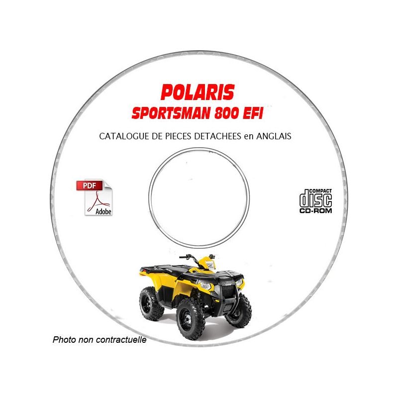 revue technique POLARIS SPORTSMAN 800 EFI jusque 2005