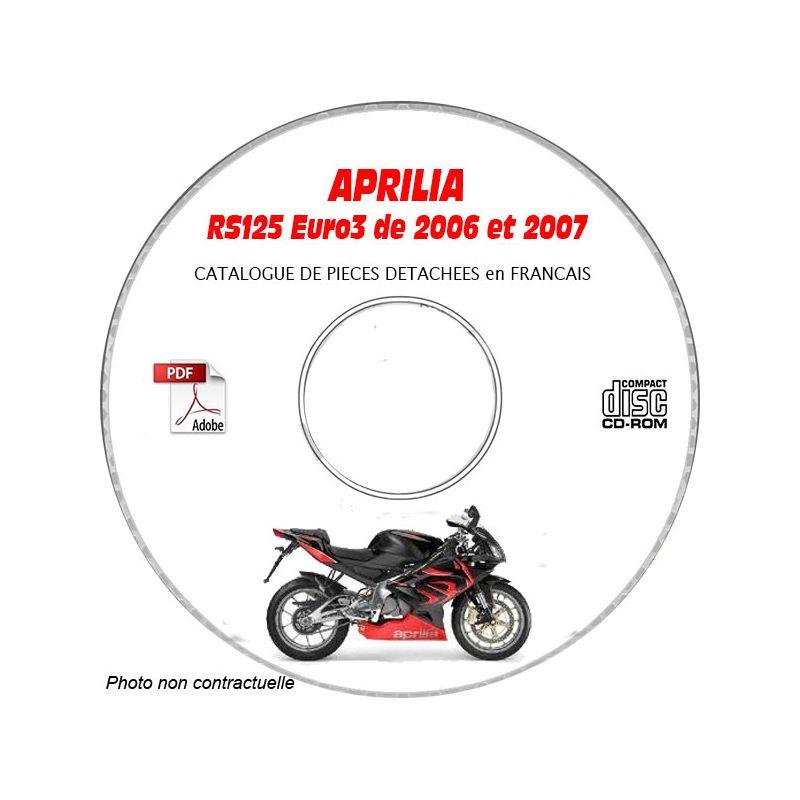 revue technique APRILIA RS125 Euro 3 de 2006 à 2007