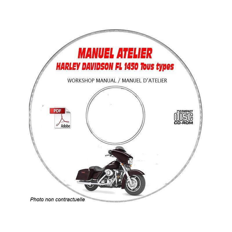 revue technique HARLEY-DAVIDSON FL 1450 Manuel d'Atelier