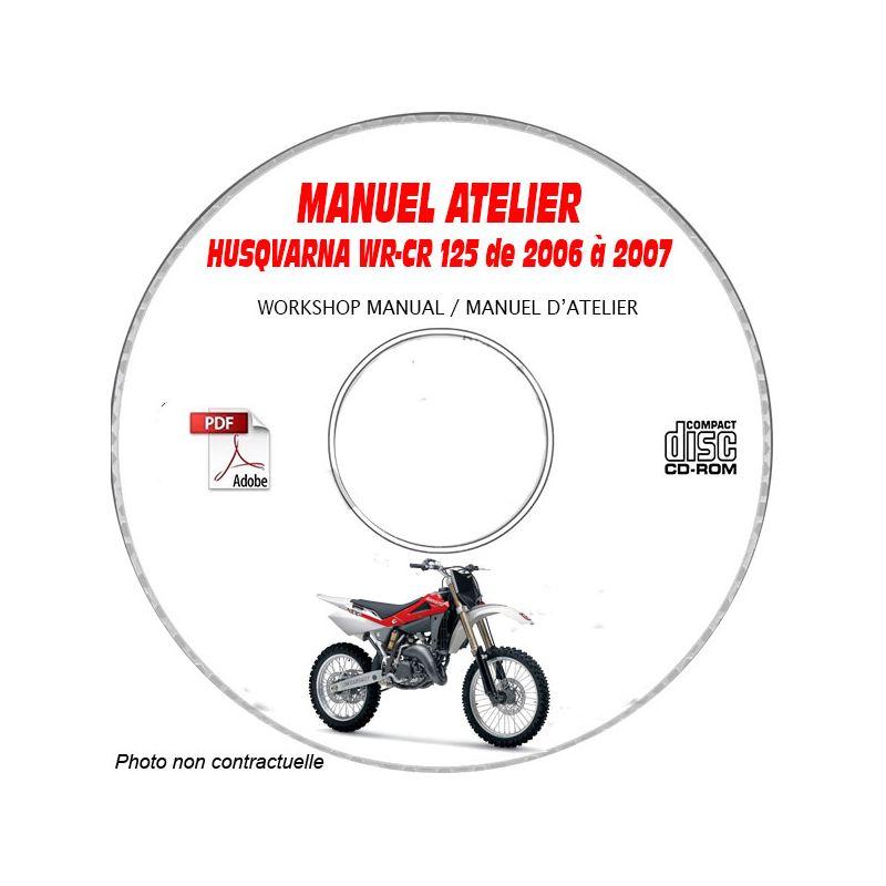revue technique HONDA CR125 et WR125 de 2006 a 2007 Manuel