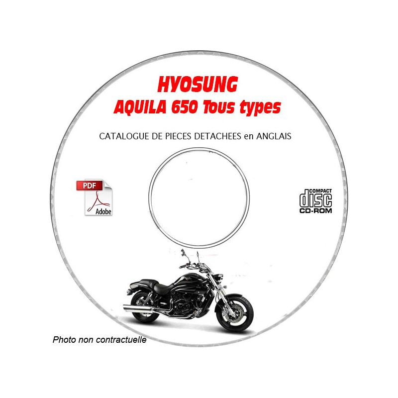 revue technique HYOSUNG AQUILA 650 TYPE GV650 Catalogue