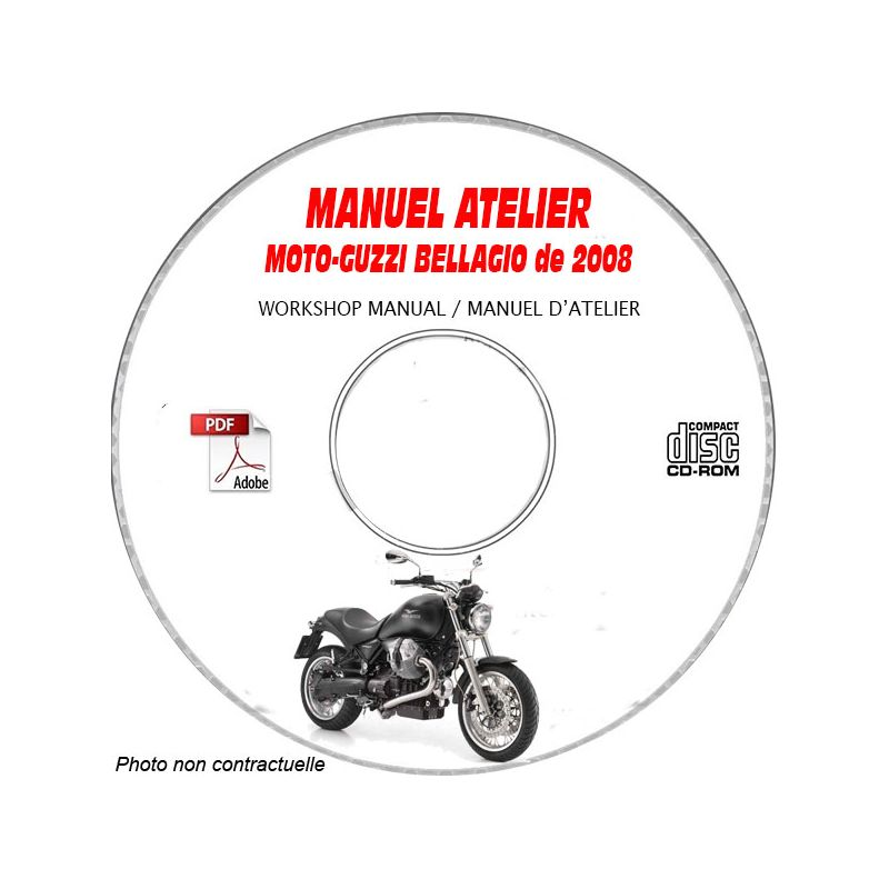 revue technique MOTO-GUZZI BELLAGIO de 2008 type : ZGULY0