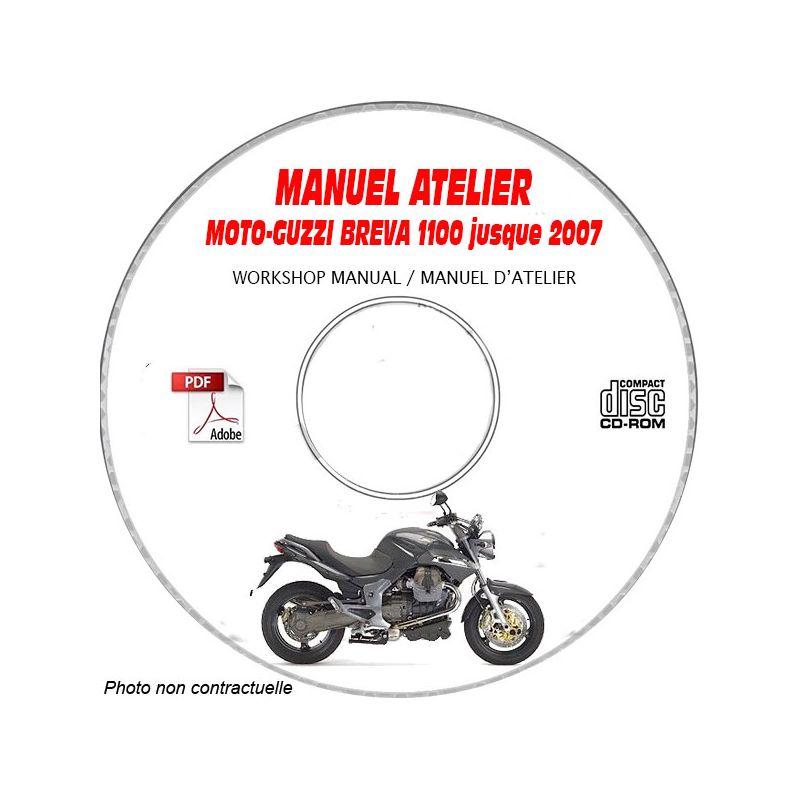 revue technique MOTO-GUZZI BREVA 1100 jusque 2007 type