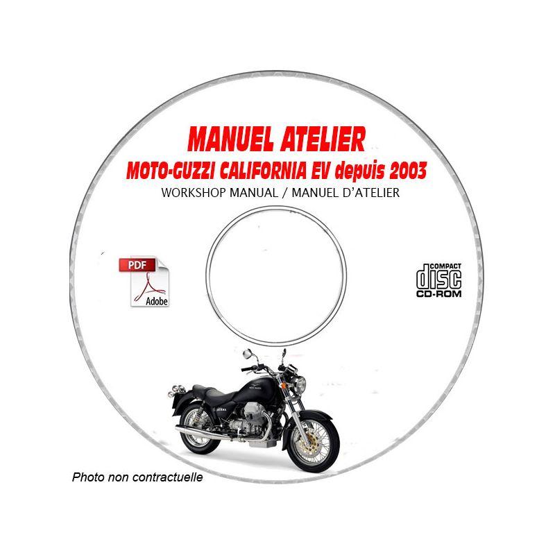 revue technique MOTO-GUZZI CALIFORNIA EV de 2003 MANUEL D