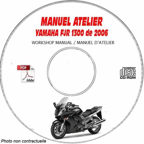 revue technique YAMAHA FJR 1300 de 2006 Type : 3P61 + 3P62