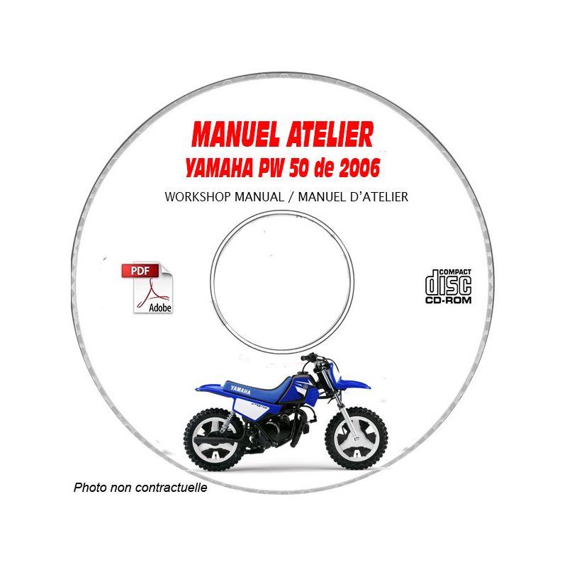 revue technique YAMAHA PW 50 V de 2006 TYPE: 5PH Manuel d