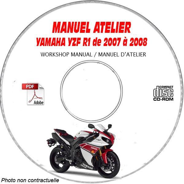 Yamaha Yzfr1 Yzf R1 2007 Factory Service Repair Manual Pdf
