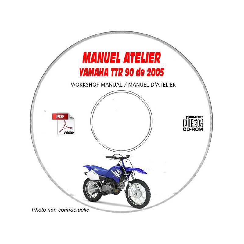 revue technique YAMAHA TTR 90 E de 2005 Types : 5HNW