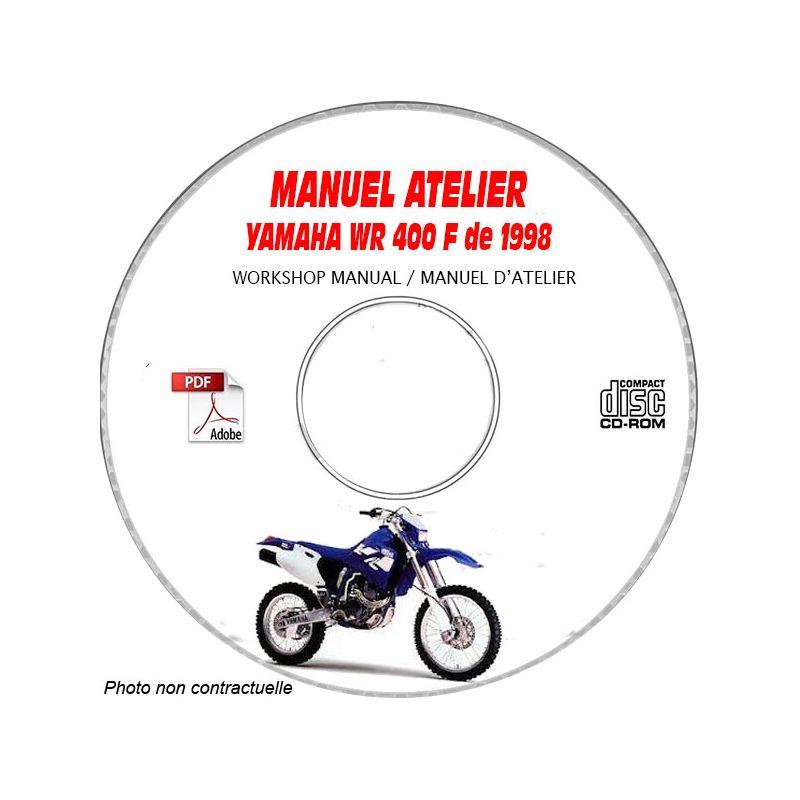 revue technique YAMAHA WR 400 F de 1998 Type : 5BF2 Manuel