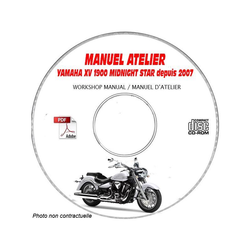 revue technique YAMAHA XV1900 MIDNIGHT STAR de 2007 Manuel