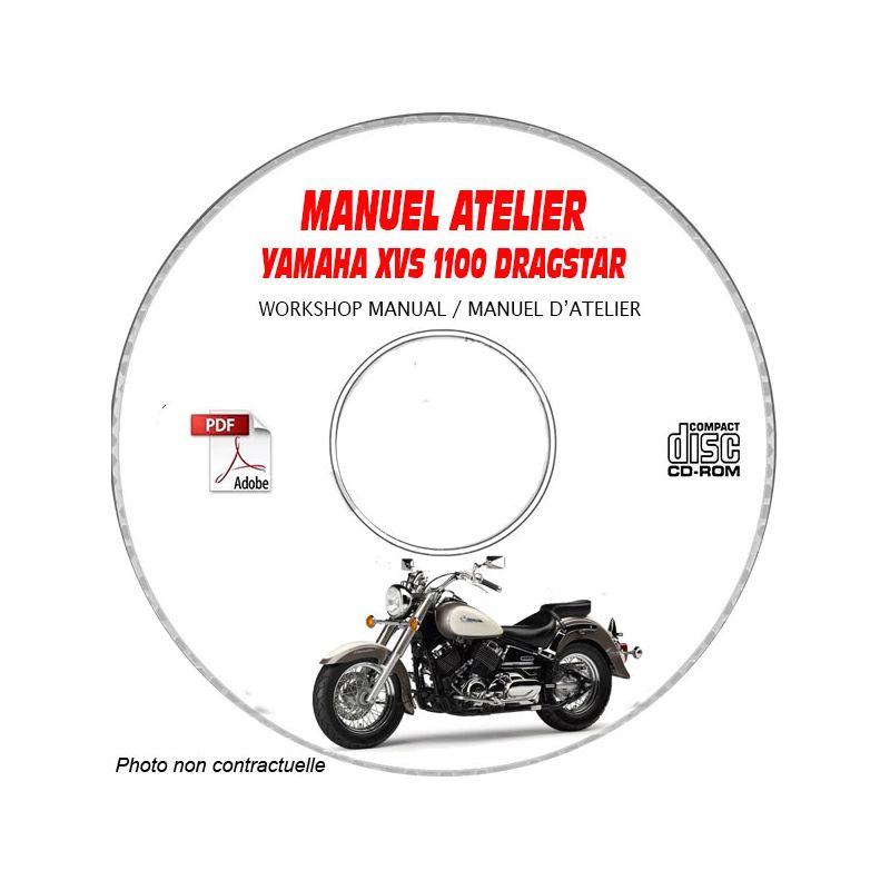 revue technique YAMAHA XVS1100 DRAGSTAR Type : 5EL1 Manuel