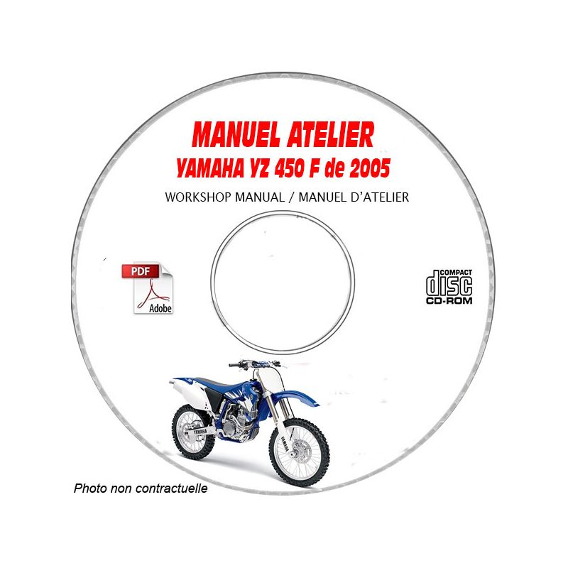 revue technique YAMAHA YZ 450 F de 2005 Type : 2S22 Manuel
