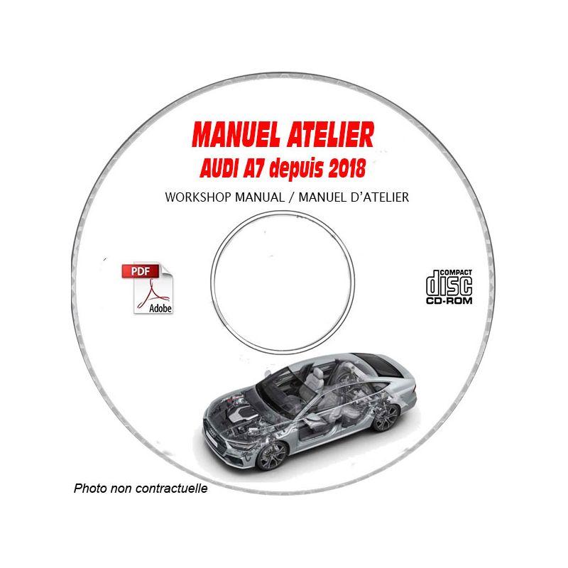 revue technique AUDI A7 depuis 2018 Type : 4K Manuel