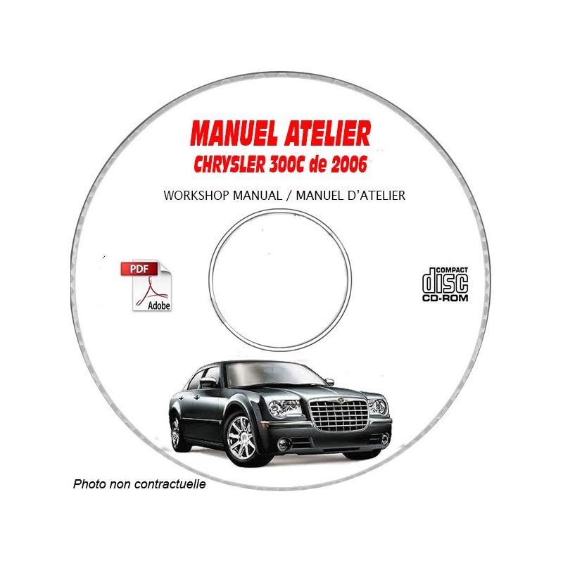 CHRYSLER 300C et SRT8 de 2006 Type : LX Manuel d'Atelier