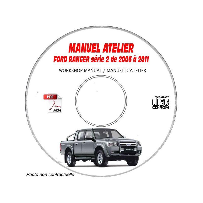 revue technique FORD RANGER série 2 de 2006 à 2011 Manuel