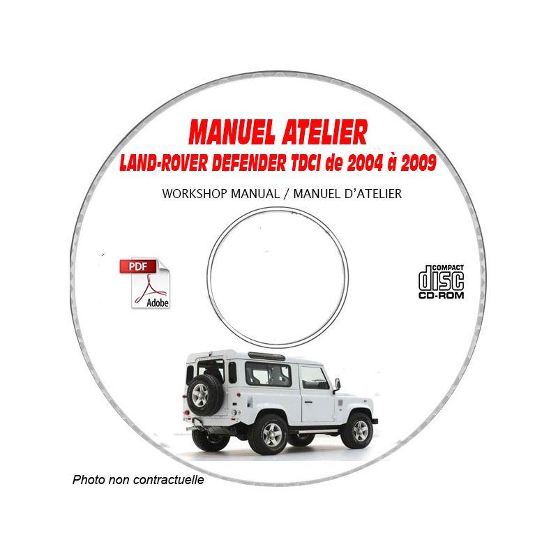 revue technique LAND-ROVER DEFENDER 2.4 TDCI de 2007 à