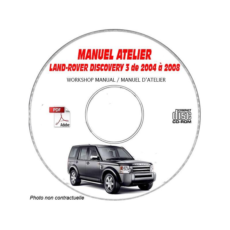 revue technique LAND-ROVER DISCOVERY 3 de 2004 à 2008