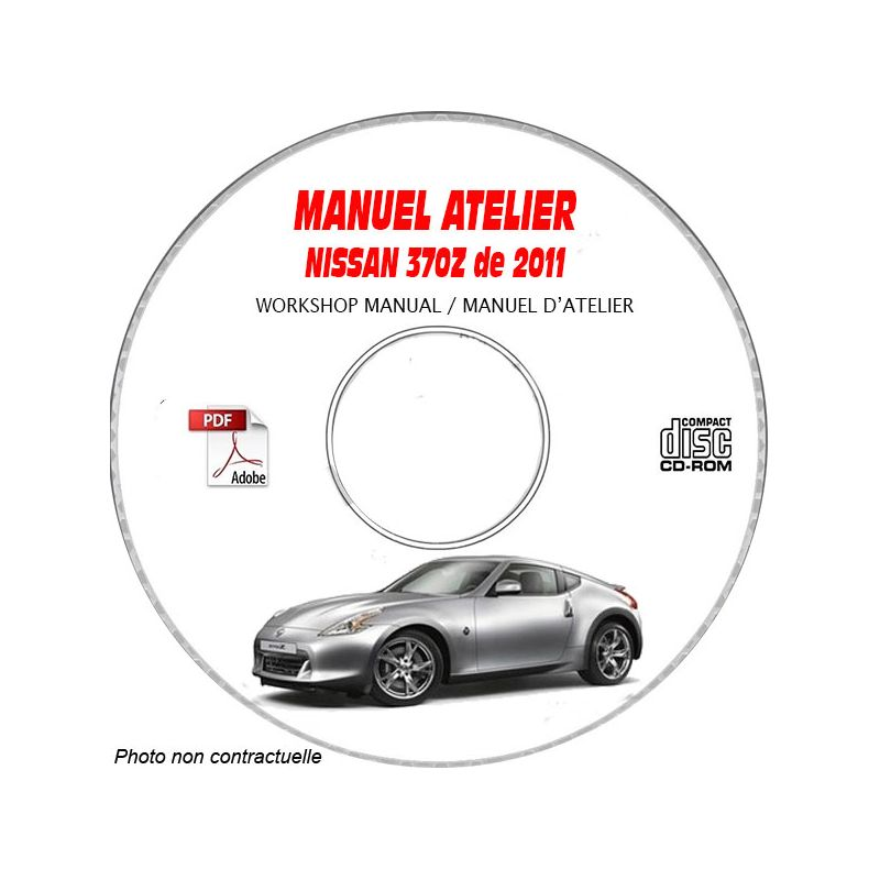 revue technique NISSAN 370Z de 2011 TYPE: Z34 Manuel d