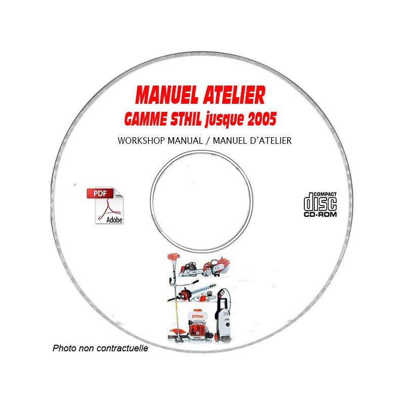 GAMME SAV STHIL et VIKING jusqu'a fin 2005 Manuel d