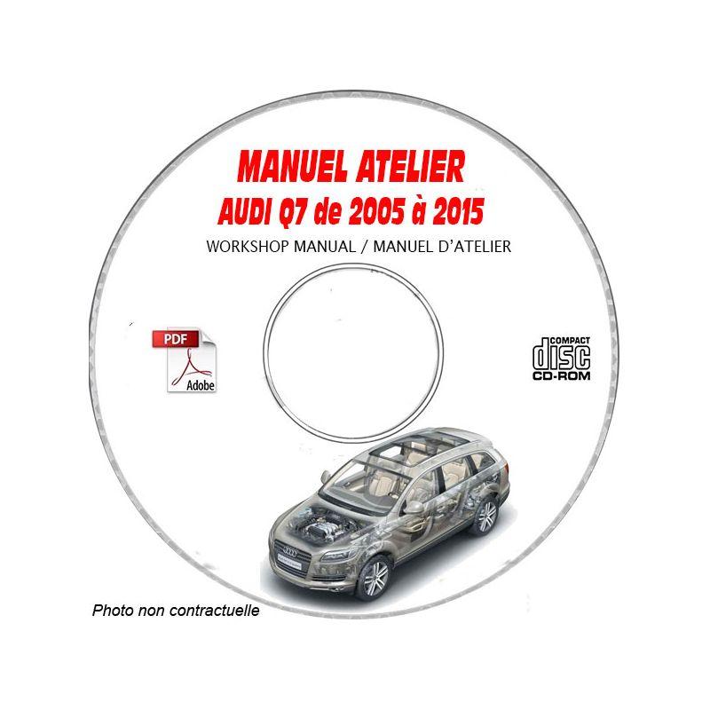 revue technique AUDI Q5 de 2008 à 2017 Type : 8R Manuel