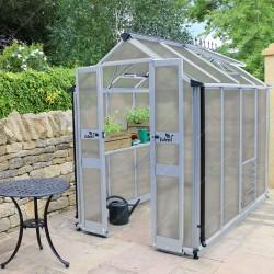 serre de jardin 3 78m en polycarbonate 6mm birdlip eden greenhouses